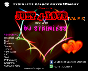 DJ STAINLESS - JUST 4 LOVE (VAL MIX) » Mino | Mp3 Download